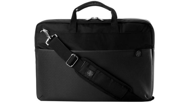 HP Duotone 15.6 Inch Laptop Briefcase - Silver and Black