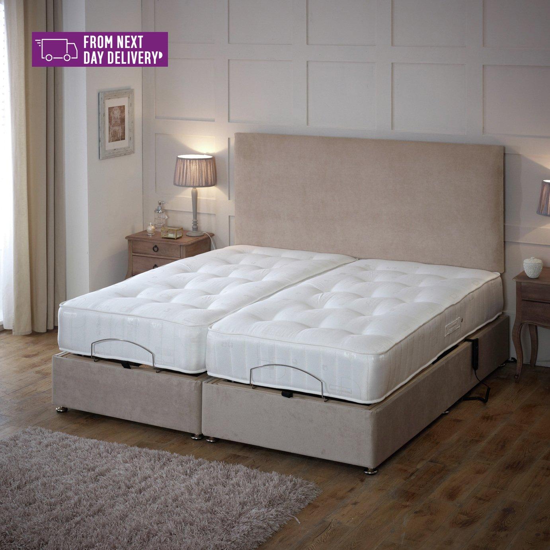 Regal Kingsize Adjustable Bed with Pocket Sprung Mattress