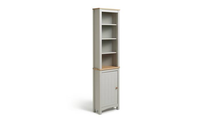 Argos Home Bournemouth Corner Dispay Unit - Light Grey