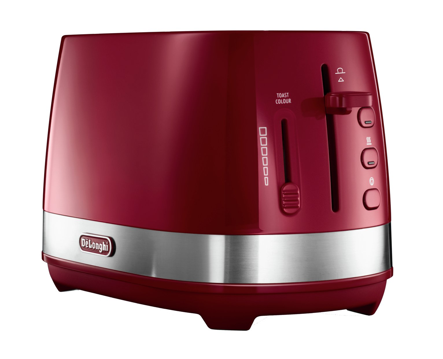 De'Longhi CTLA2103.R Active Line 2 Slice Toaster - Red