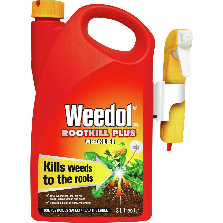 Weedol Root Kill Plus Weed Killer 3L