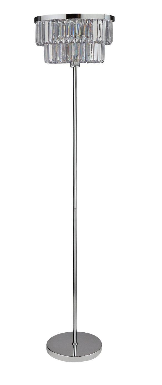 Argos Home Savannah Floor Lamp - Chrome
