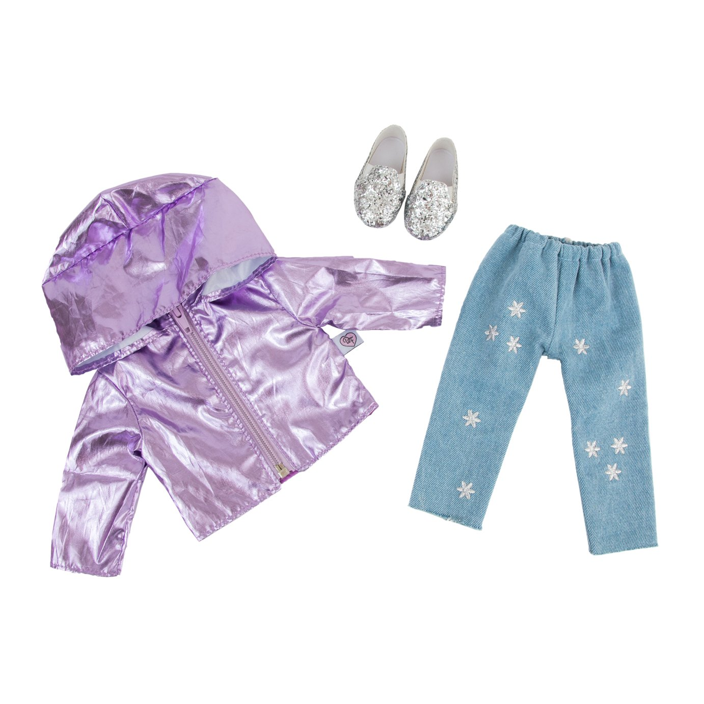 Chad Valley Designafriend Shimmer Shower Outfit