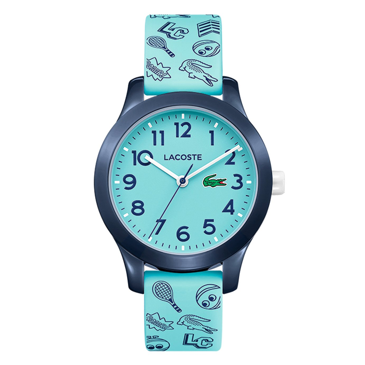 Lacoste Childrens Blue Silicone Strap Watch