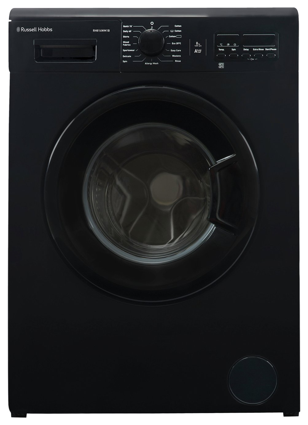 Russell Hobbs RH814WM1B 8KG 1400 Washing Machine - Black