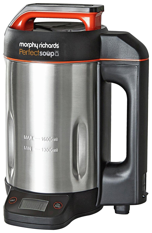 Morphy Richards 501025 Perfect Soup Maker - Metallic