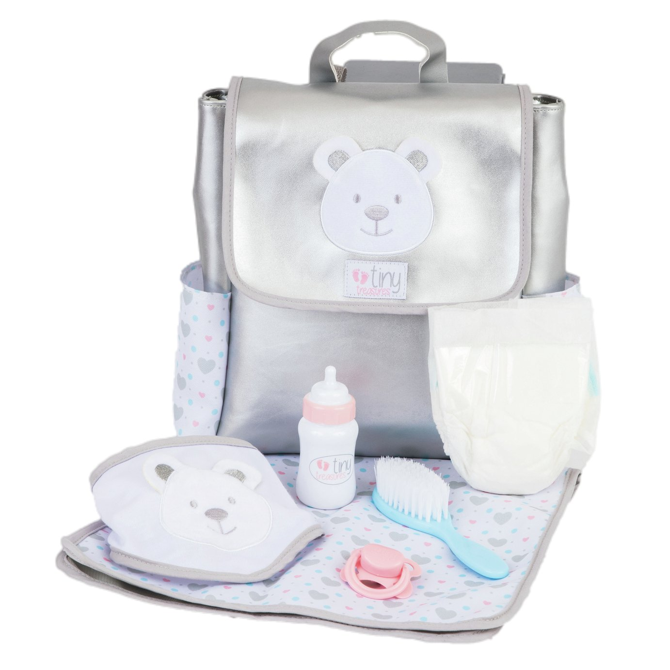Chad Valley Tiny Treasures Baby Changing Rucksack