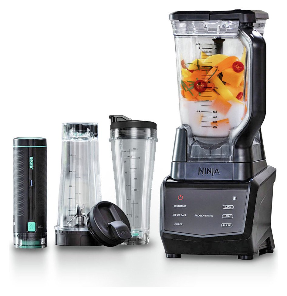 Ninja CT660UKV Smart Screen 2.1L Jug Vacuum Blender