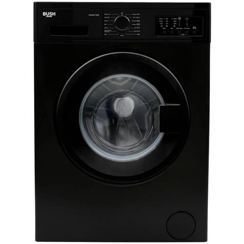Buy Bush WMNB712EB 7KG 1200 Spin Washing Machine - Black ...