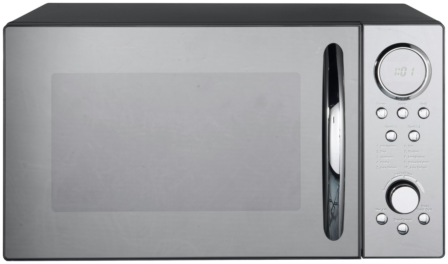 Morphy Richards 900W Microwave with Grill D90D23ELB8 - Black
