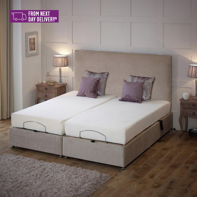 Imperial Super King Adjustable Bed & Memory Foam Mattress