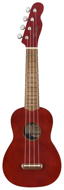 Fender Venice Soprano Size Ukulele - Cherry