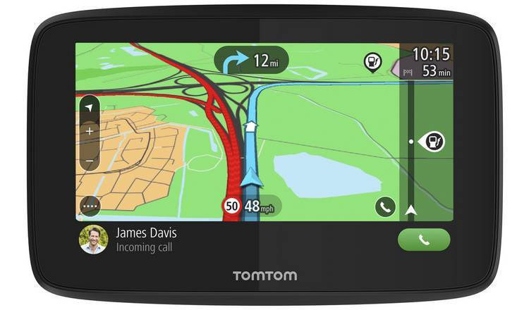Buy TomTom GO Essential 5 Inch Lifetime EU Maps &Traffic Sat Nav | Sat nav  | Argos