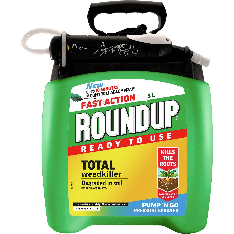Roundup Pump 'n Go Weed Killer 5L