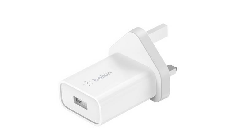 Belkin 12W USB-A Wall Charger with QC3 Plug - White
