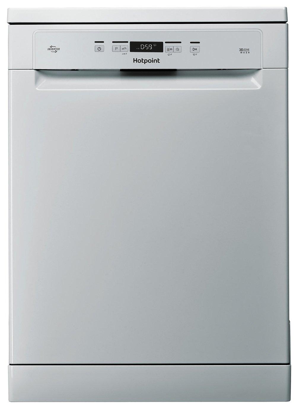 Hotpoint HFC3C26WSV Full Size Dishwasher - Silver