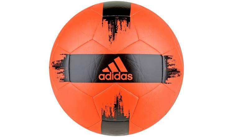 Buy Adidas Size 5 Football Orange and Black | Footballs | Argos