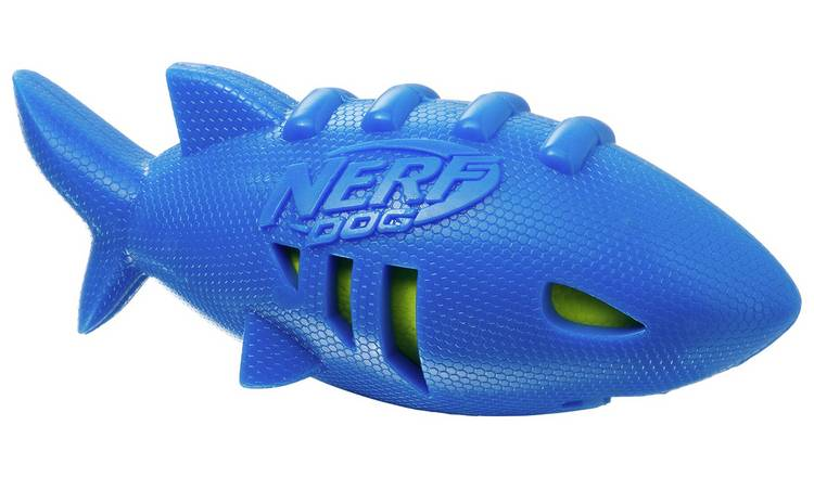 Nerf Dog Super Soaker Shark Football