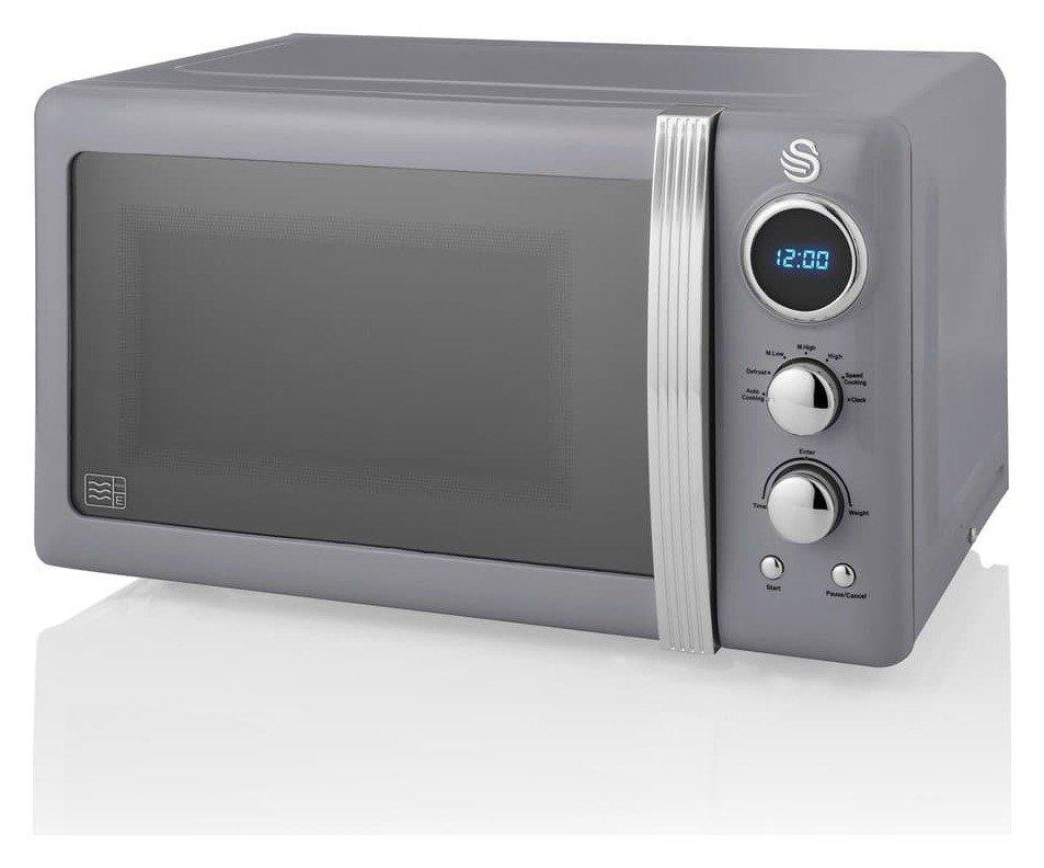 Swan 800W Standard Microwave SM22030GRN