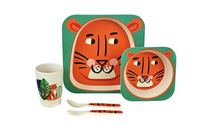 Adventure Is Out There Character Plate & Bowl Set