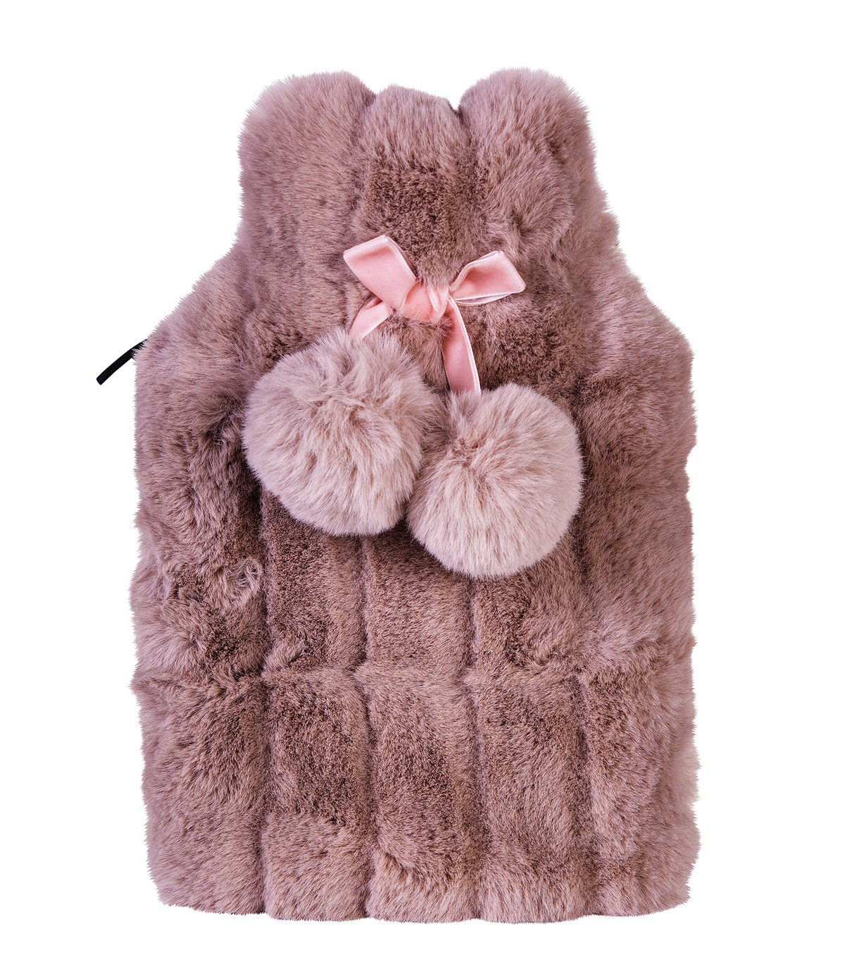 Tranquil Retreat Faux Fur Hot Water Bottle