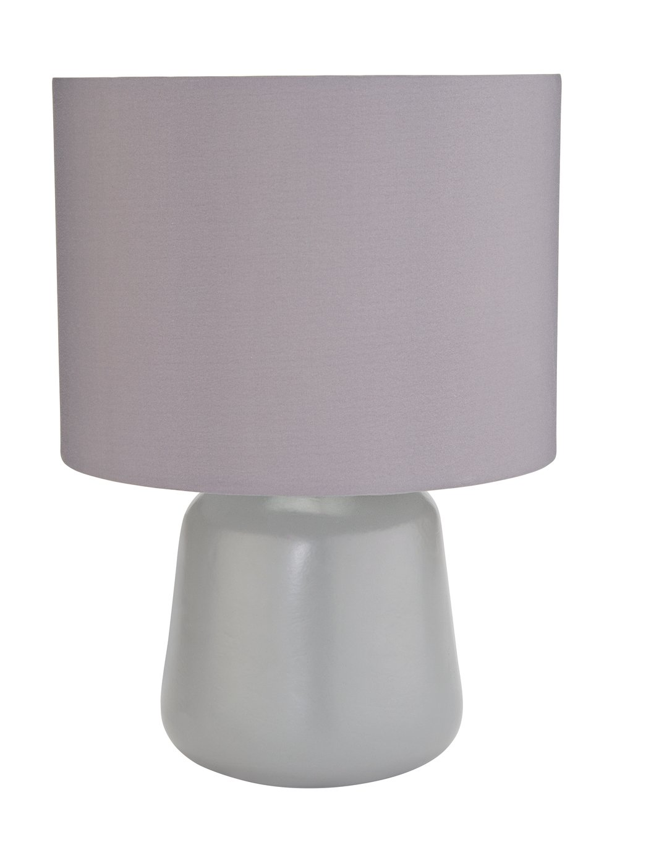 Argos Home Ceramic Table Lamp - Flint Grey