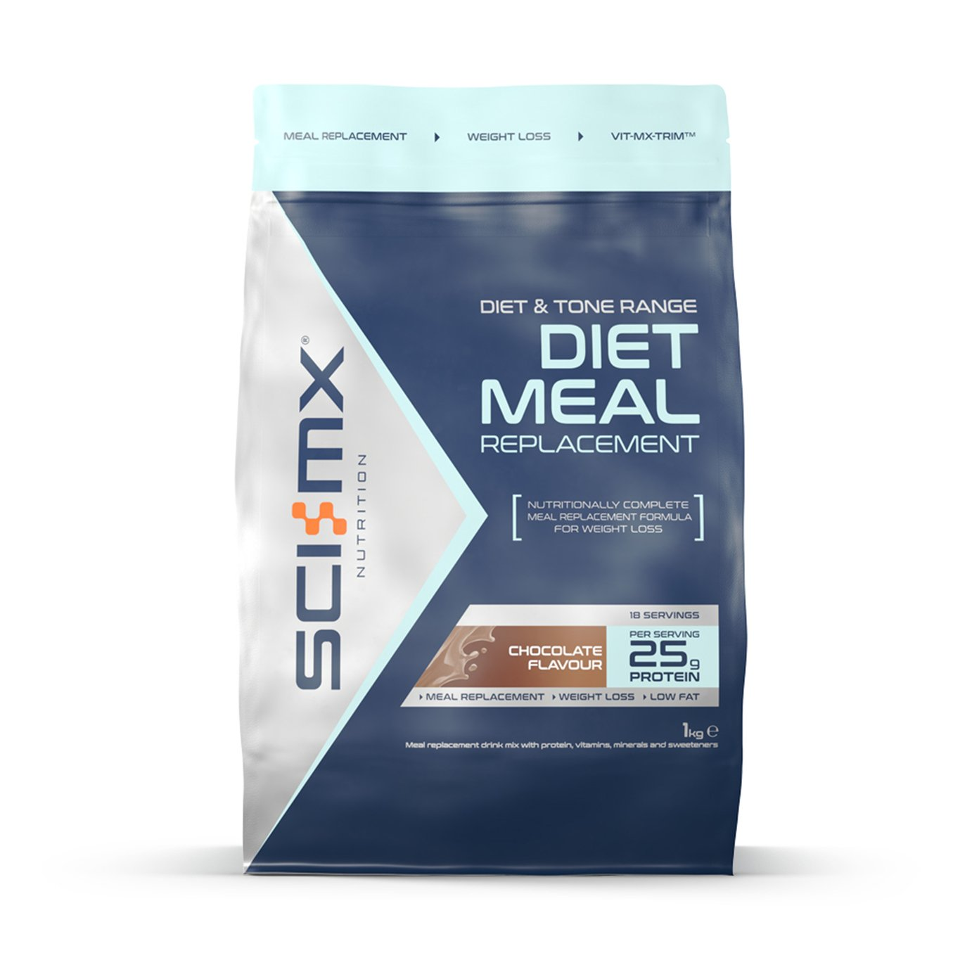 SCI-MX Diet Meal Replacement Chocolate - 1kg