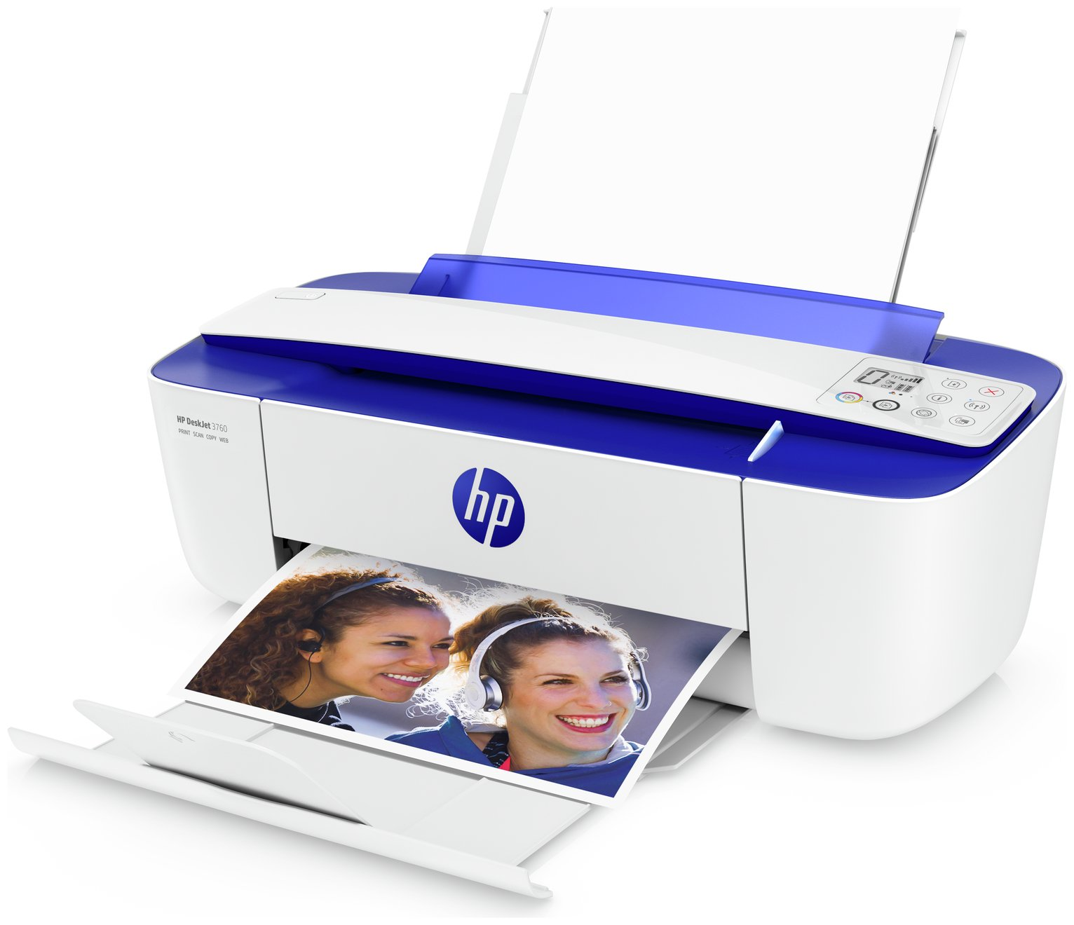HP Deskjet 3760 Wireless Printer & 2 Months Instant Ink