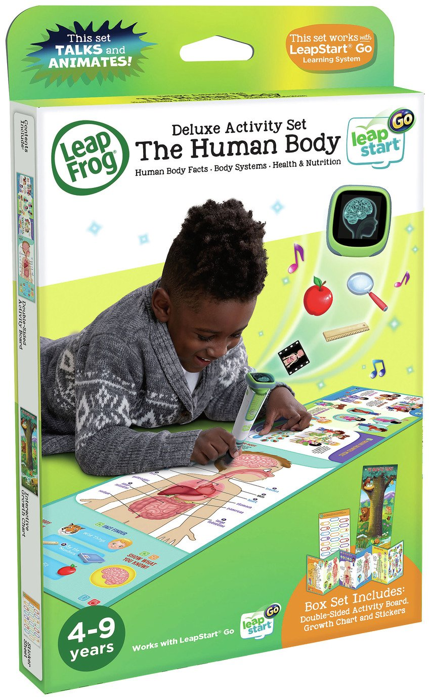 LeapFrog LeapStart Go Human Body Software