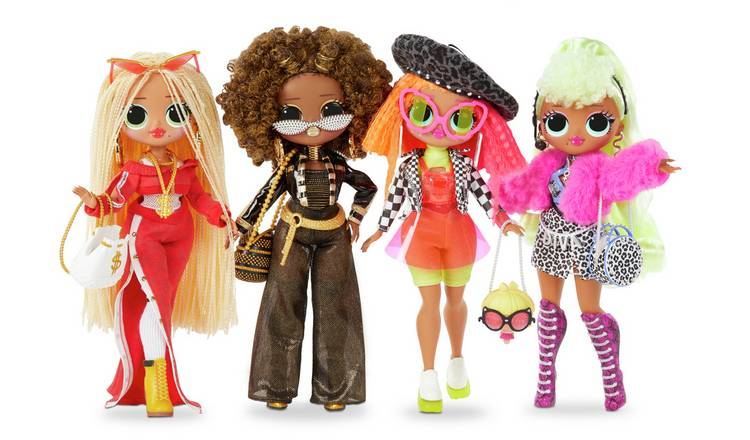 Buy Lol Surprise Omg Fashion Doll With 20 Surprises Dolls Argos
