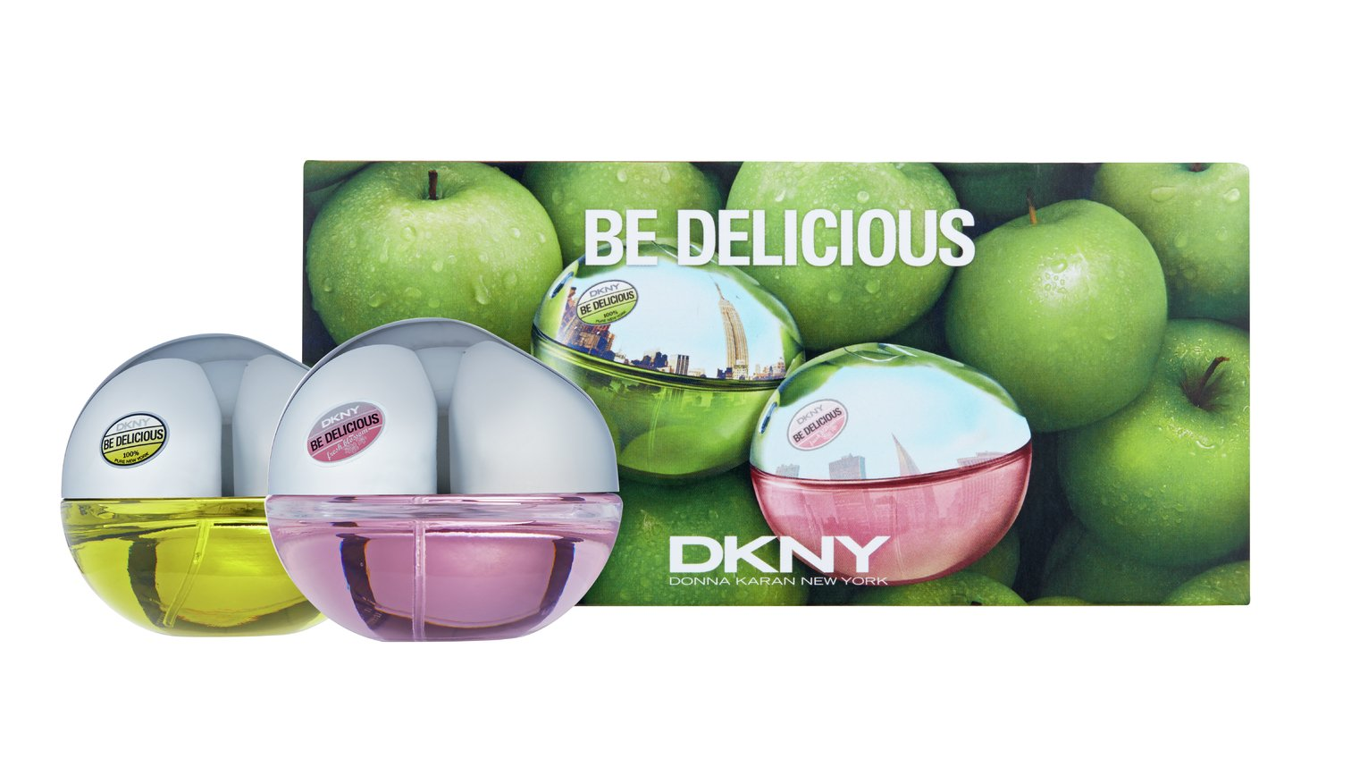 DKNY Be Delicious and Fresh Blossom Eau de Parfum - 2 x 30ml