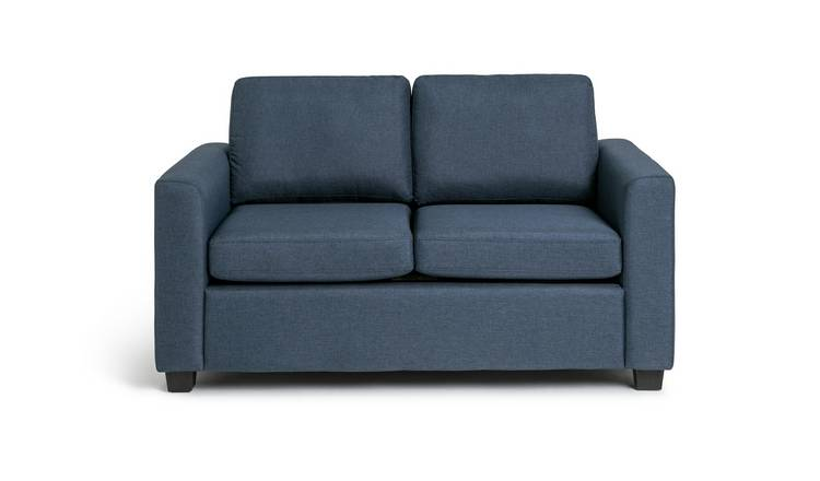 Habitat Apartment 2 Seater Fabric Sofa Bed - Navy