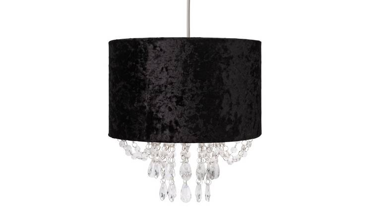 Argos Home Venice Beaded Shade - Black