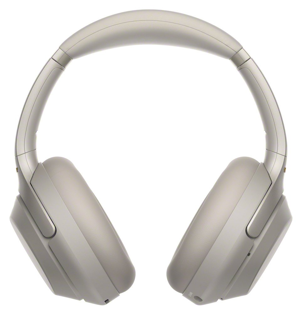 Sony WH-1000XM3 On-Ear Wireless Headphones - Silver