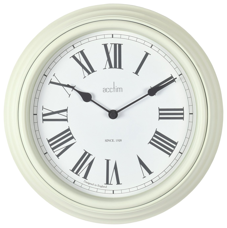 Acctim Vintage Wall Clock - Cream
