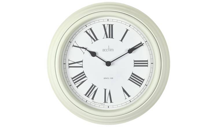 Acctim Vintage Wall Clock - Cream