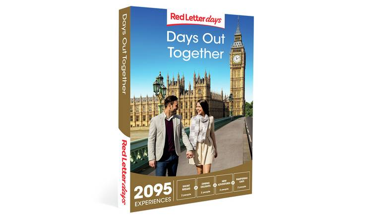 Red Letter Days Days Out Together Gift Experience