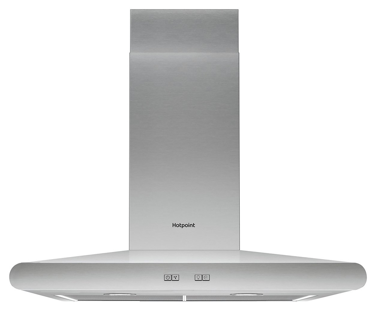 Hotpoint PHC6.7FLBIX 60cm Cooker Hood - Stainless Steel