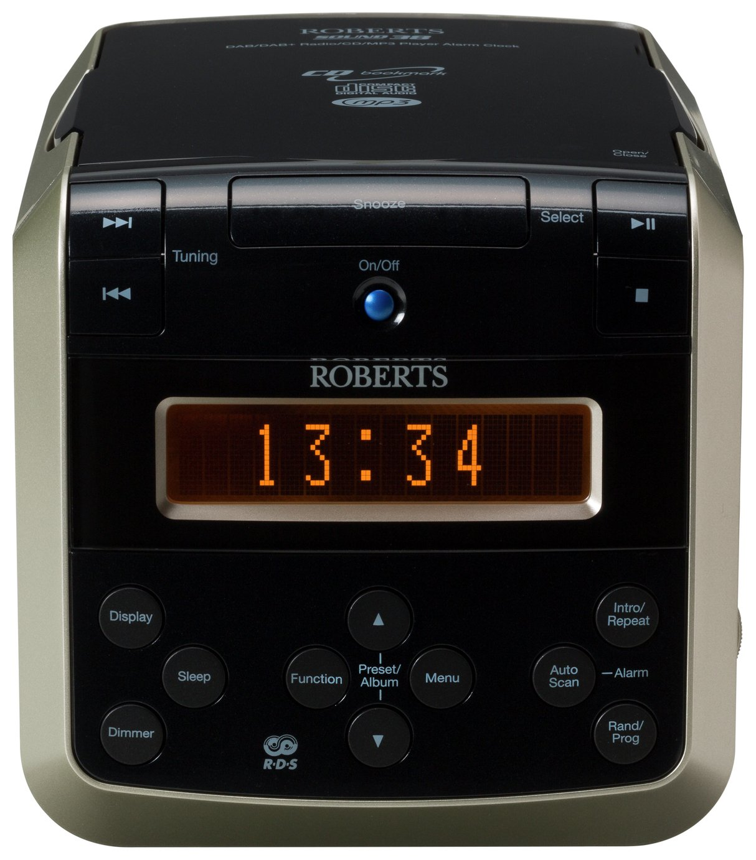 Roberts Sound38 DAB Radio and CD Player - Black / Silver