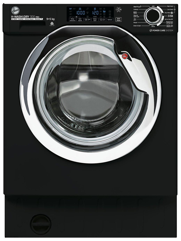 Hoover HBDOS 695TAMCBE 9/5KG Integrated Washer Dryer - Black