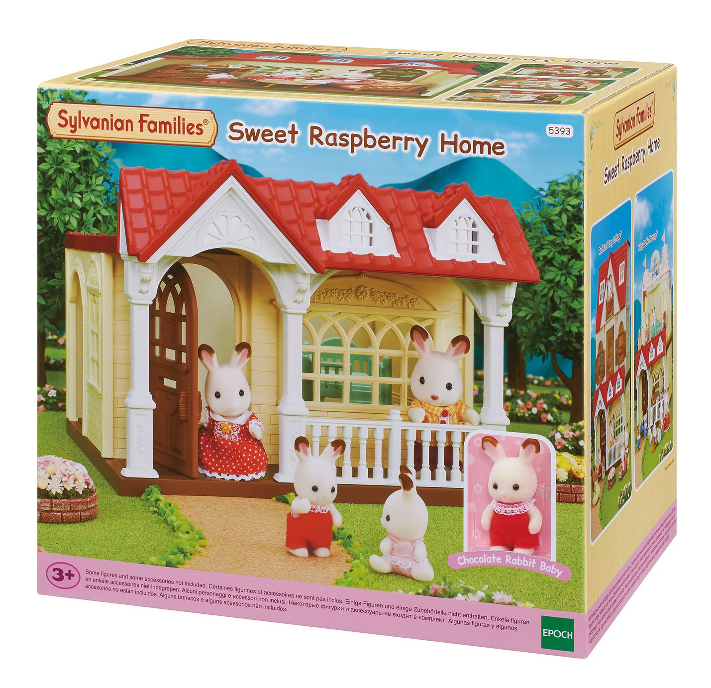 Sylvanian Families Sweet Raspberry Home Playset