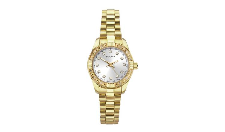 Sekonda Ladies Gold Coloured Bracelet Watch
