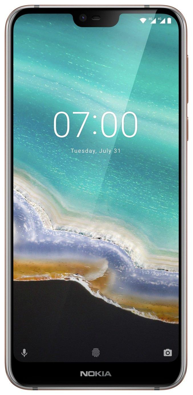 SIM Free Nokia 7.1 32GB Mobile Phone - Steel