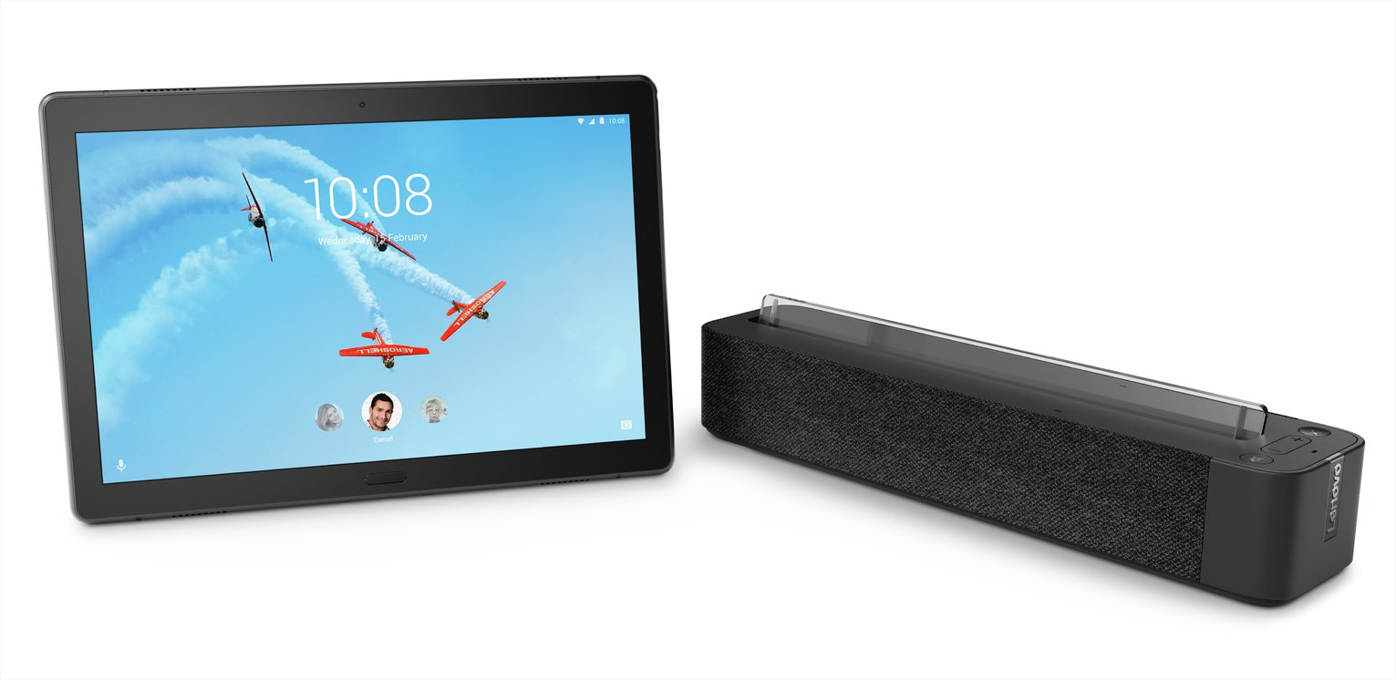 Lenovo Tab P10 10 Inch 32GB FHD Tablet & Alexa Smart Speaker