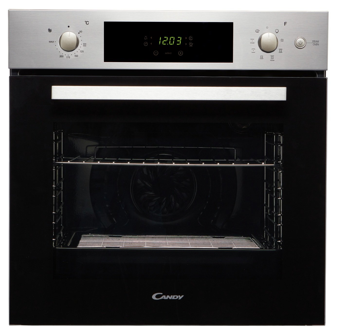 Candy FCP651SX/E Single Steam Oven - Stainless Steel