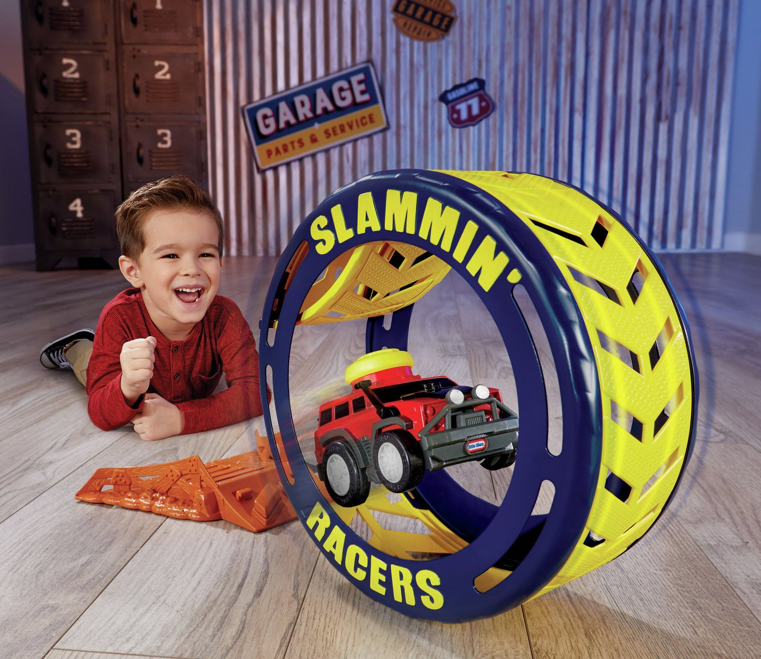 Little Tikes Slammin' Racers Turbo Tyre