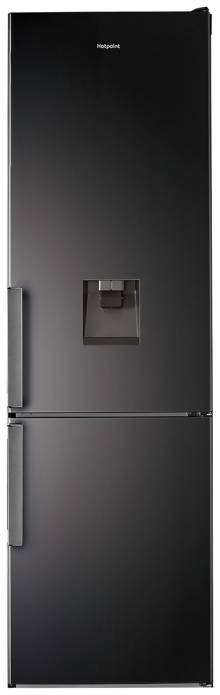 Hotpoint H7T911AKSH AQUA Frost Free Fridge Freezer - Black Best Price, Cheapest Prices