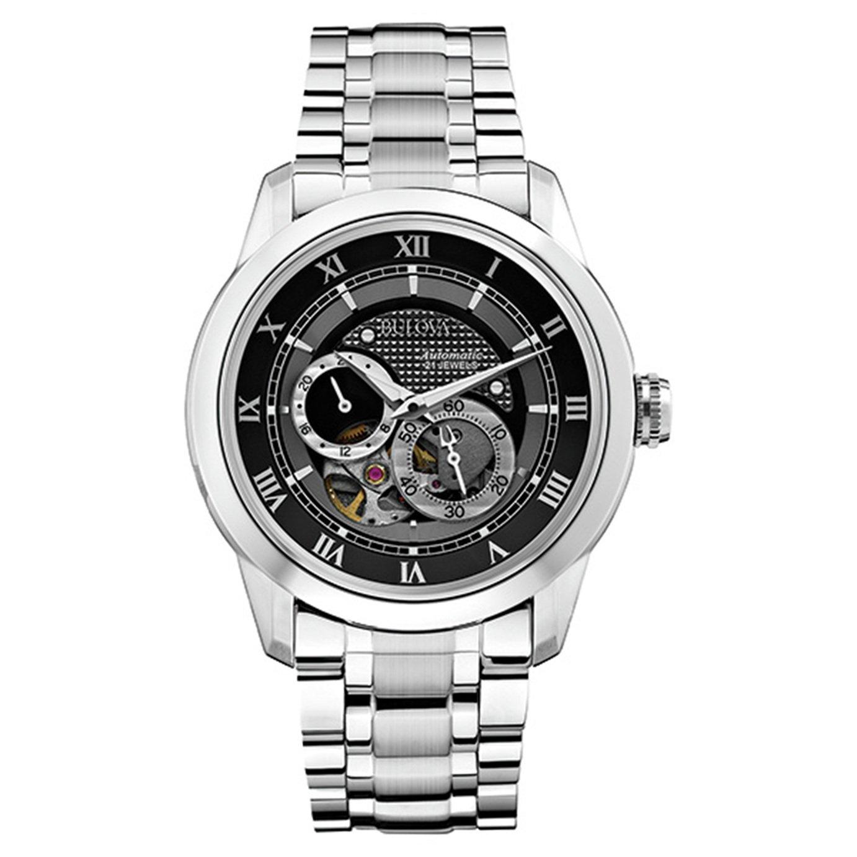 Bulova Men's Automatic Stainless Steel Bracelet Watch