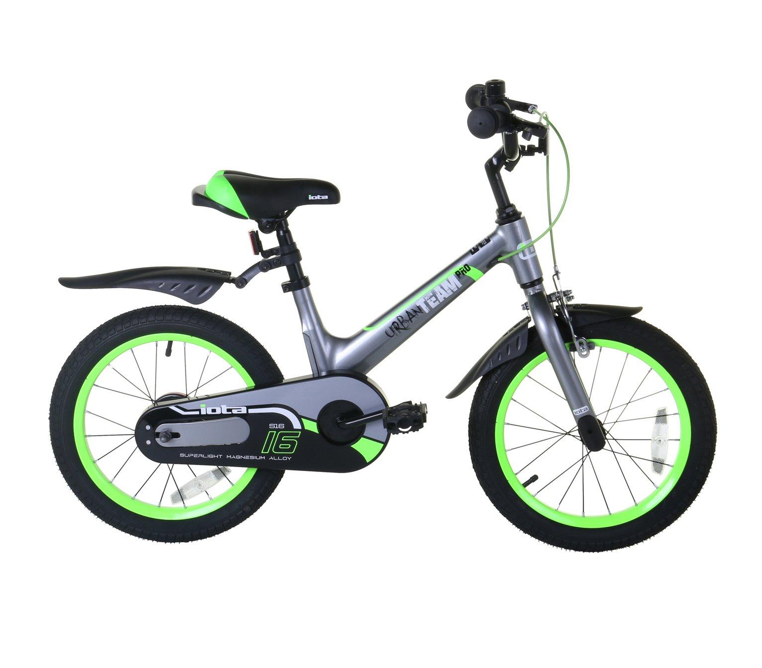 Pink Iota City Star 12 inch Wheel 9 Inch Frame Size Alloy Kid/'s Bike