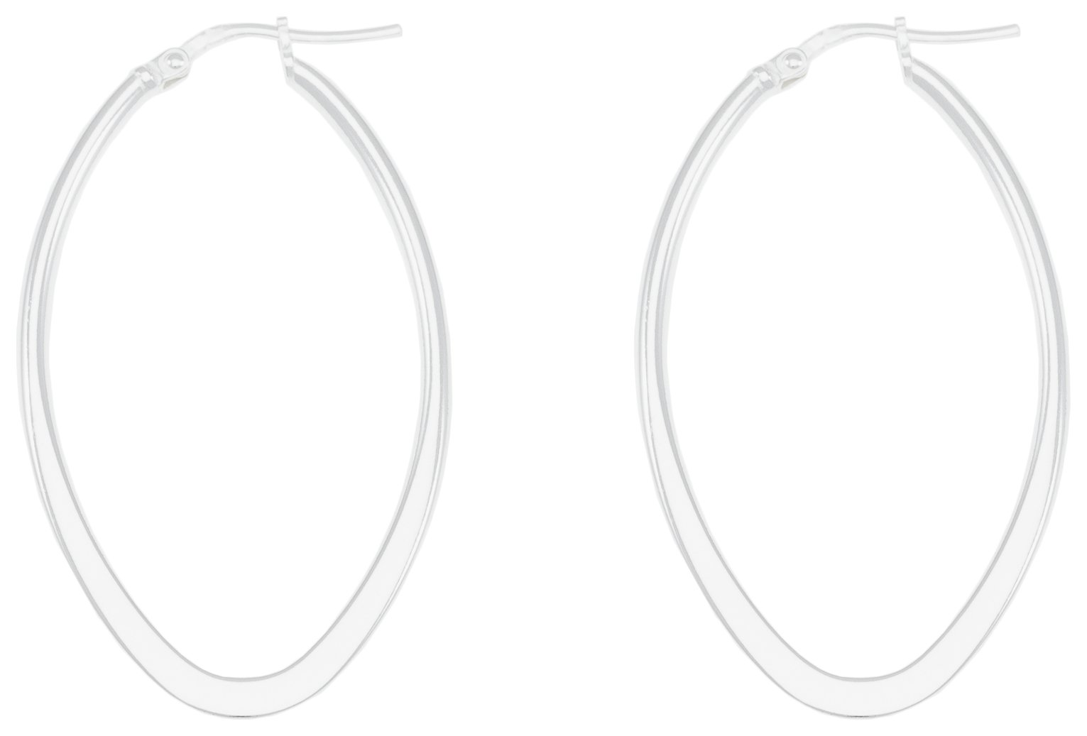 Revere Sterling Silver Medium Hoop Earrings